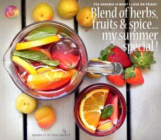 tea Sangria, tea recipe