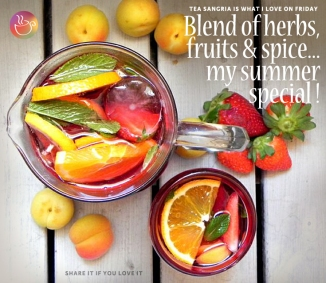 tea Sangria, tea recipe