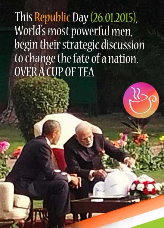 Powerful men discuss change over a cup of TEA on 26.1.2015