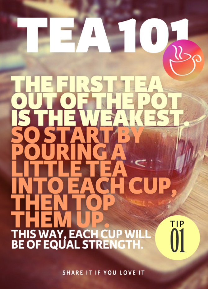 Tea Brewing Tip