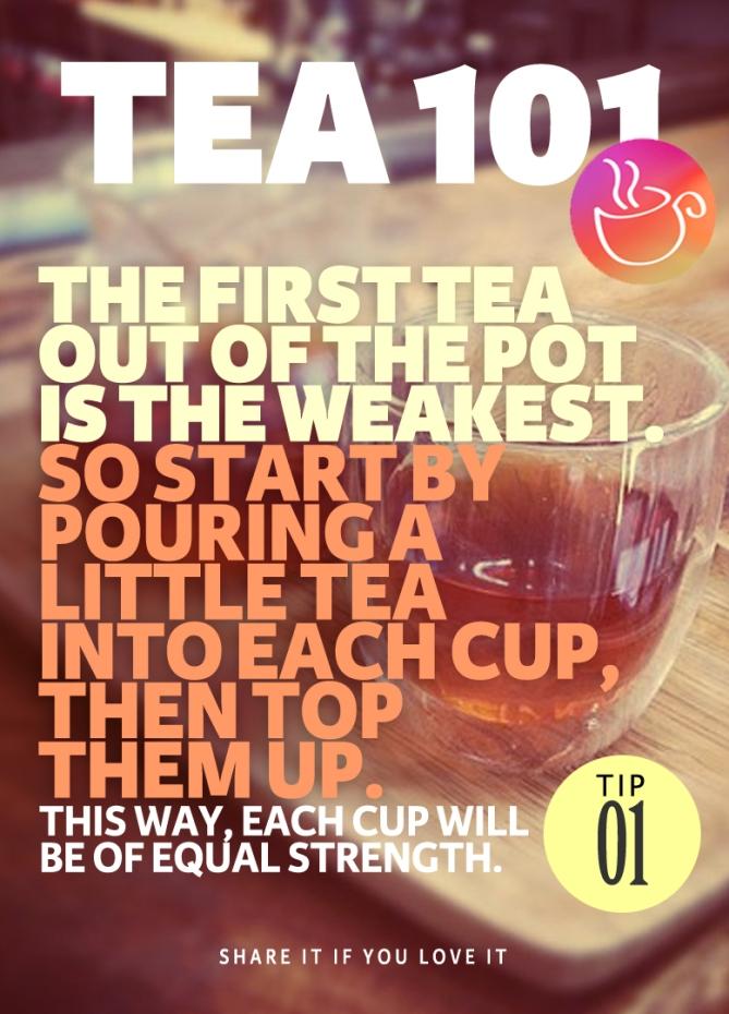 Tea Brewing Tip