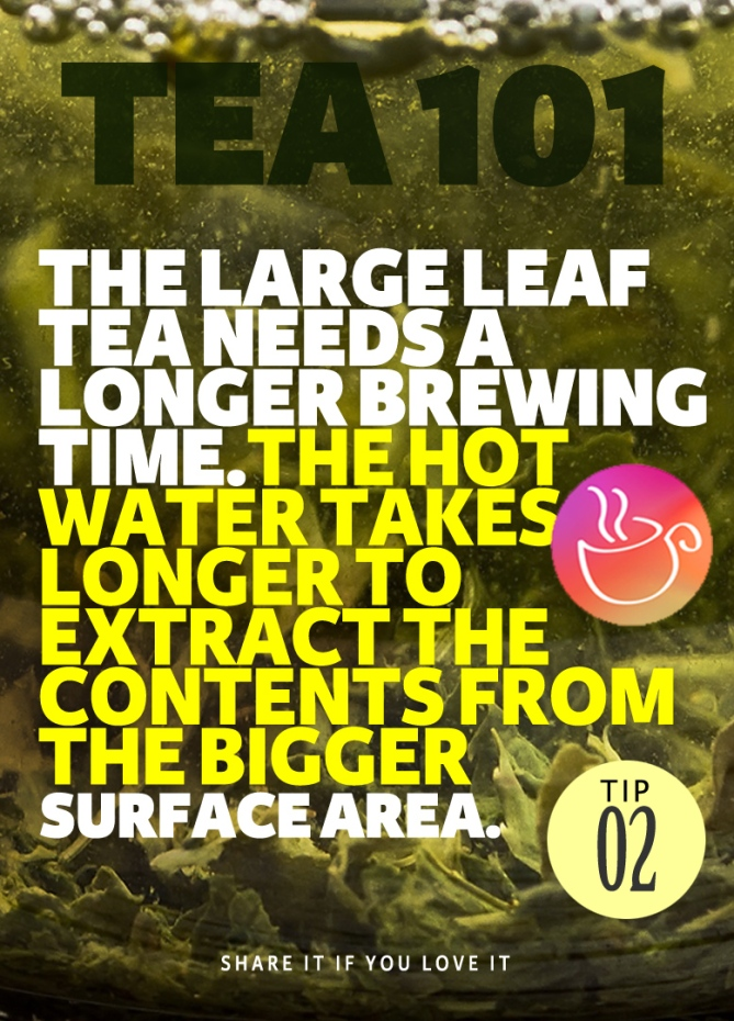 Tea brewing tips