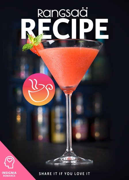 Recipe Tea Rangsaa Insignia Strawberry Martini