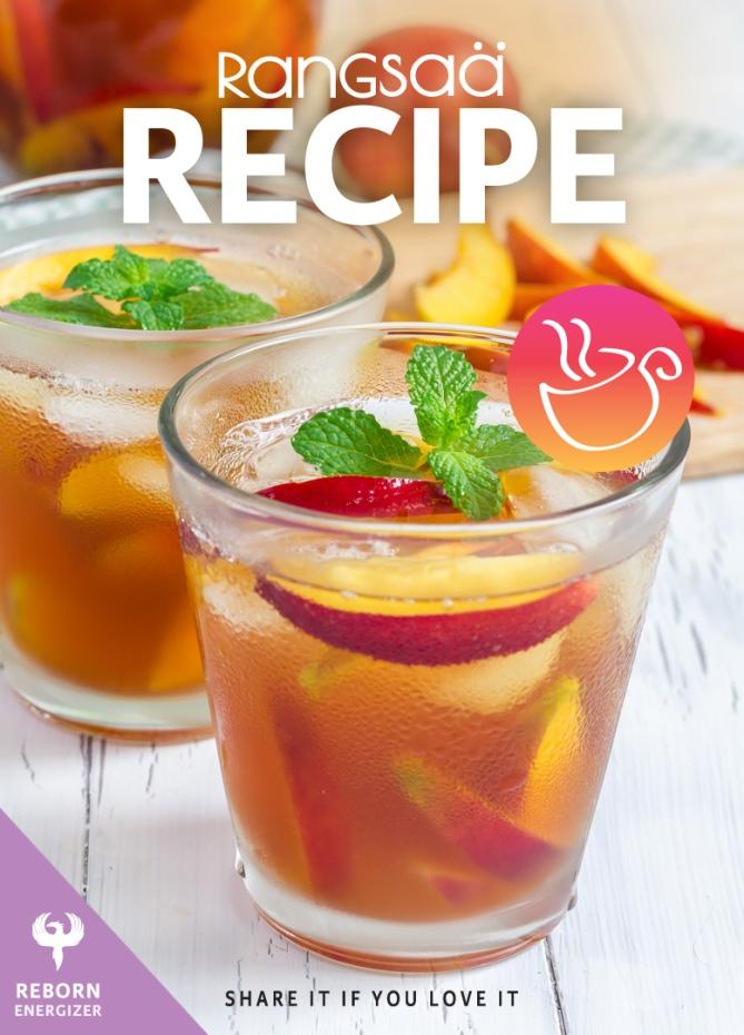 Recipe Tea Rangsaa Reborn Peach